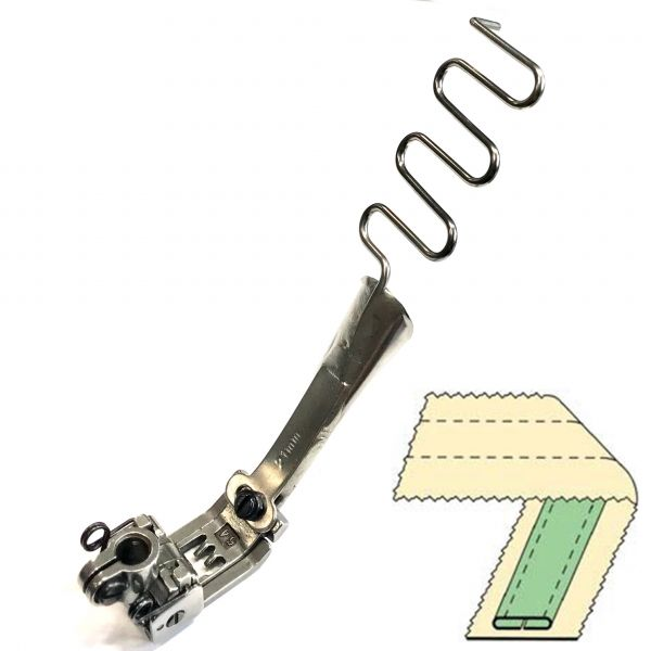 Лапка DAYU-433 6,4мм для розпошивалки. Ширина лампаса 10 мм