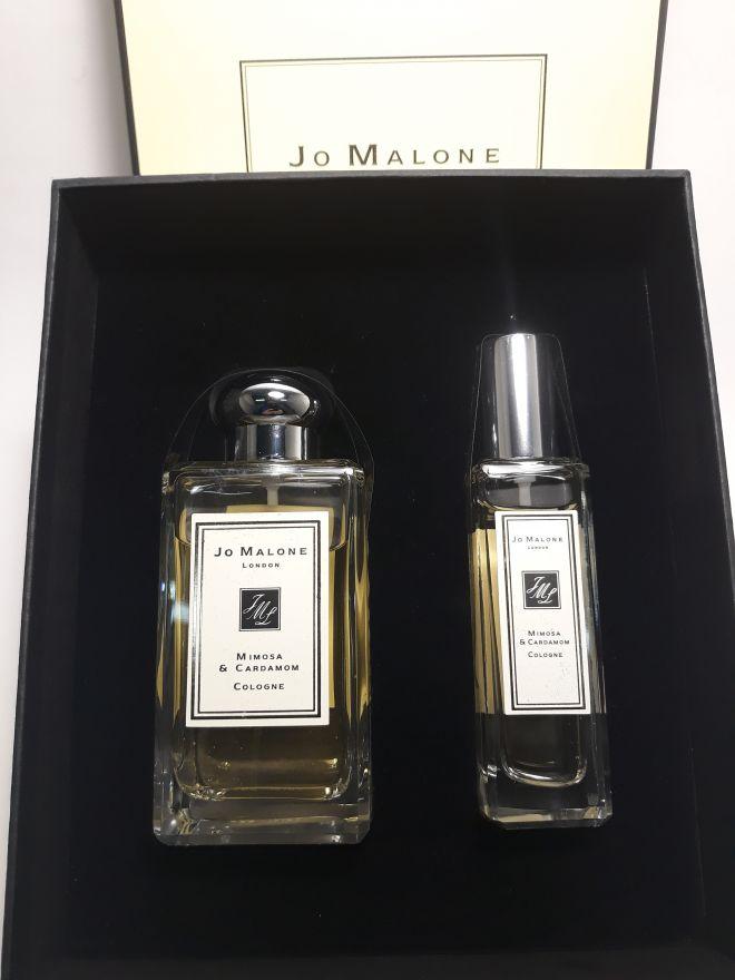 Подарочный набор Jo Malone (Mimosa & Cardamom Cologne) 1х100 мл + 1х30 мл