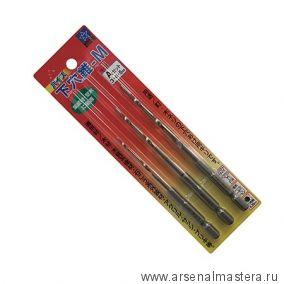 Сверла конусные с шестигранным захватом Star-M 75HSM D 3, 4, 5 мм М00009125