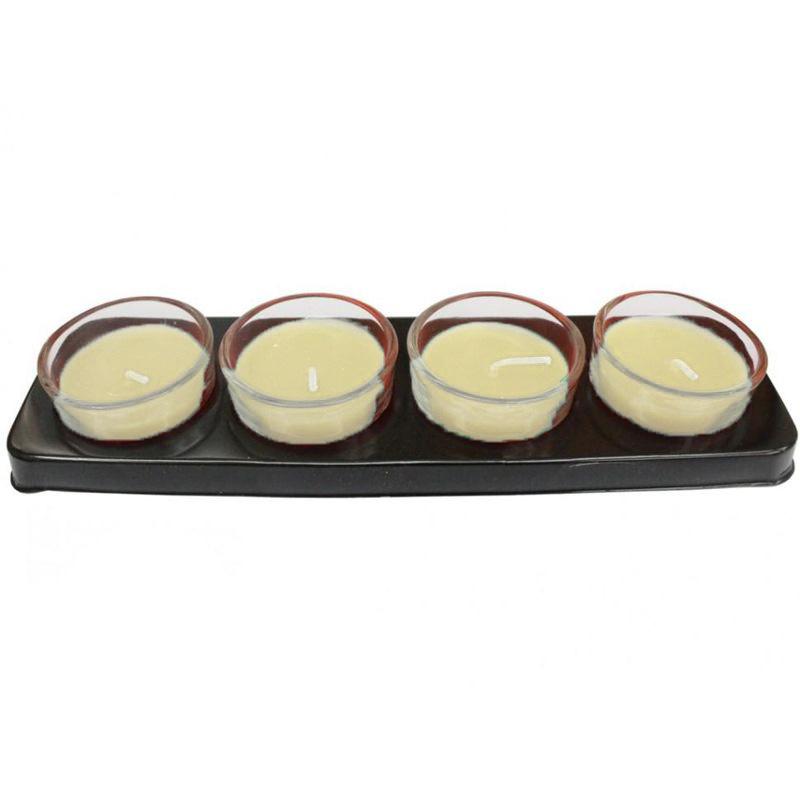 Ароматические свечи The Best Fragrance 4 шт (Жасмин)