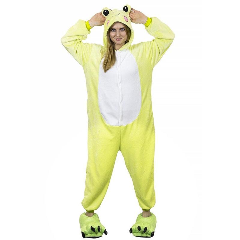 Пижама Кигуруми Лягушка Салатовая