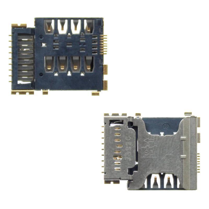 Разъём Samsung G350E Galaxy Star Advance/i8262 Galaxy Core/i8552 Galaxy Win/i8580 Galaxy Core Advance (micro SD и sim-карты) Оригинал