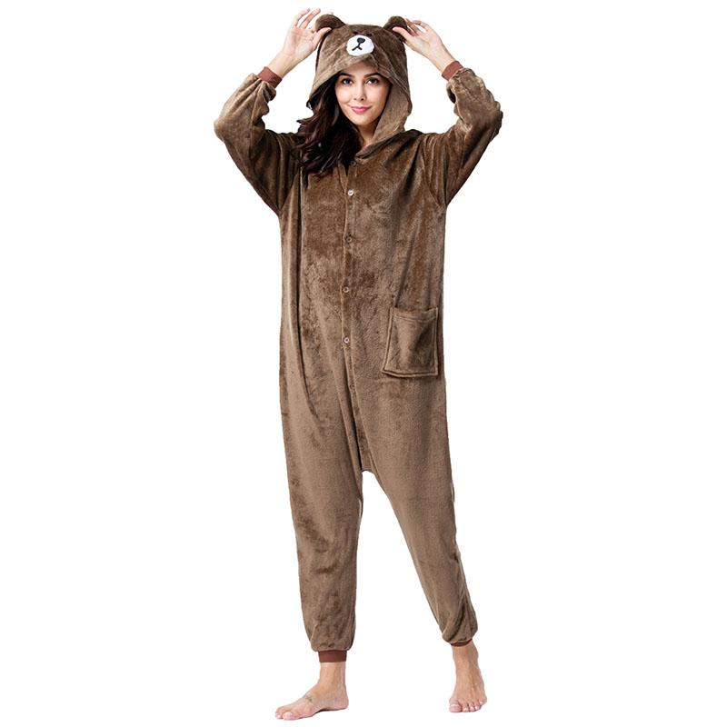 Пижама Кигуруми Медведь Бурый