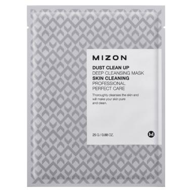 Маска тканевая с лифтинг эффектом Mizon Dust Clean Up Deep Cleansing Mask