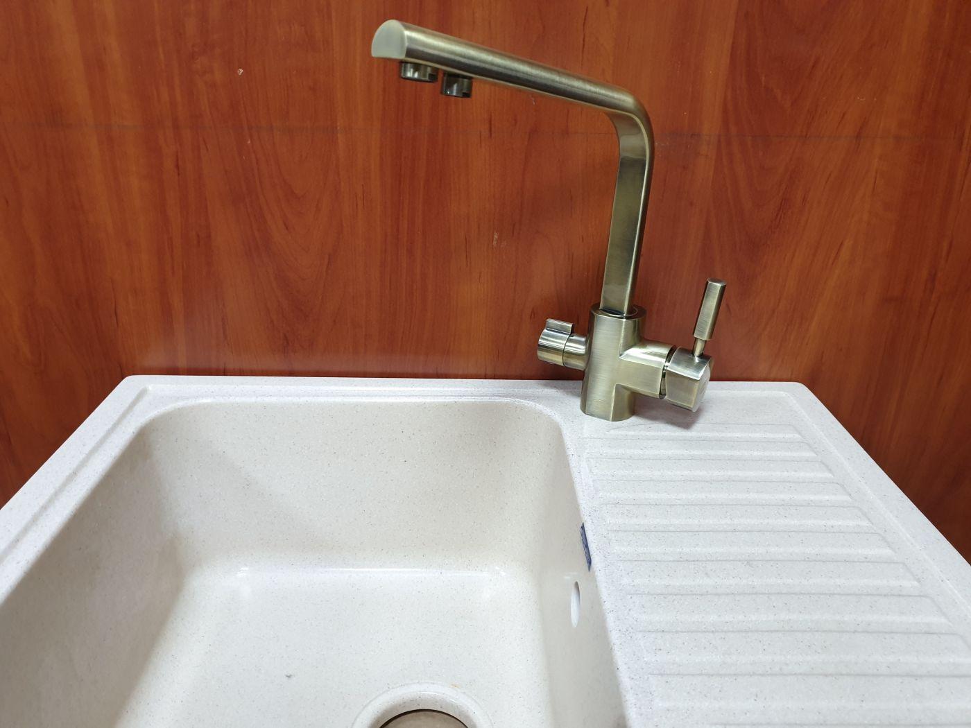 Vaserzberg VS-1905BR Смеситель для кухни с выходом под фильтр