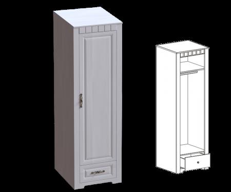 Прованс спальня Шкаф 1-дв. (590) платяной