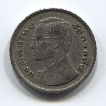 1 бат 1977 г. Таиланд  VF