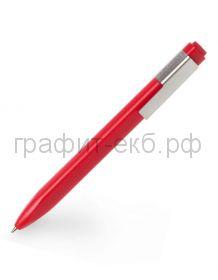 Ручка шариковая Moleskine Click красная 1,0мм EW61СF910