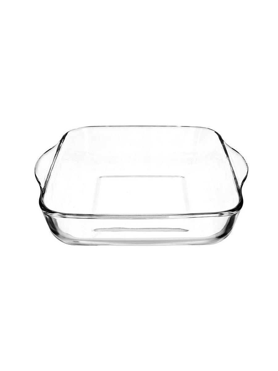 Квадратная форма для запекания 1,95 литра Borcam 59034 жаропрочная стеклянная форма для СВЧ 22х22х6 см