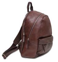 Hadley City Double Brown кожаный рюкзак