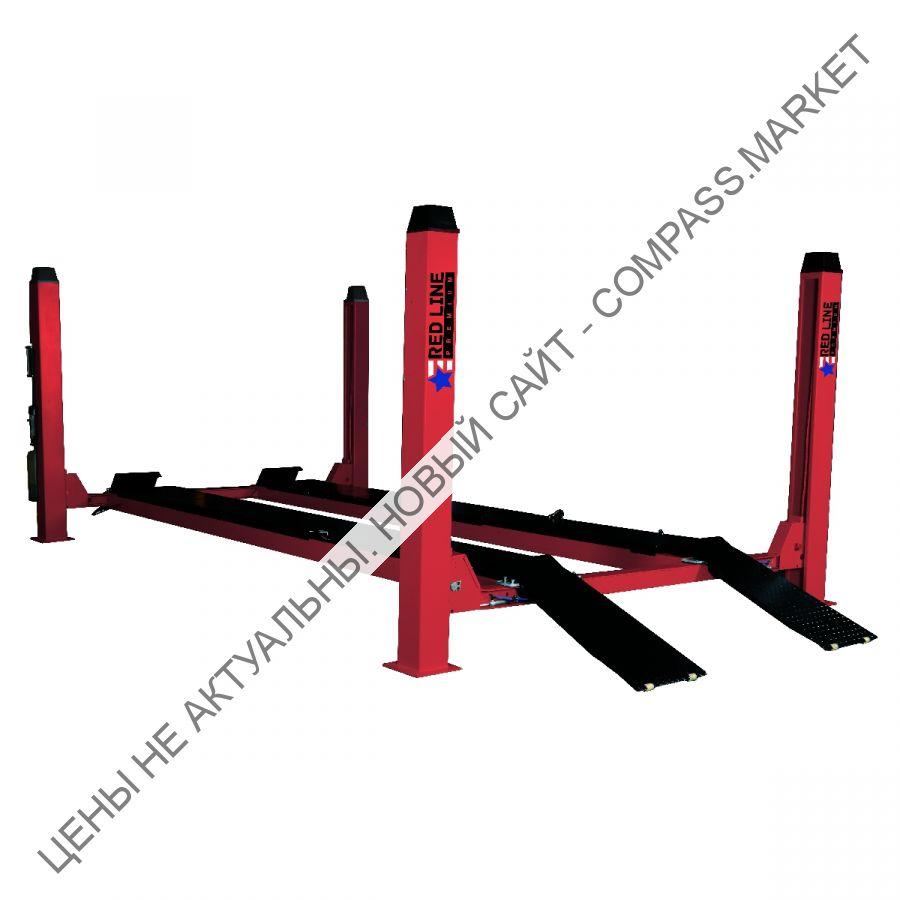 Подъемник четырехстоечный г/п 4500 кг Red Line Premium