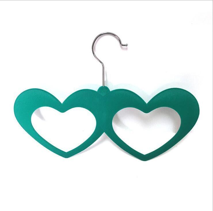 Вешалка с велюровым покрытием Два сердца