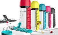 Бутылка с органайзером для таблеток Pill & Vitamin Organizer