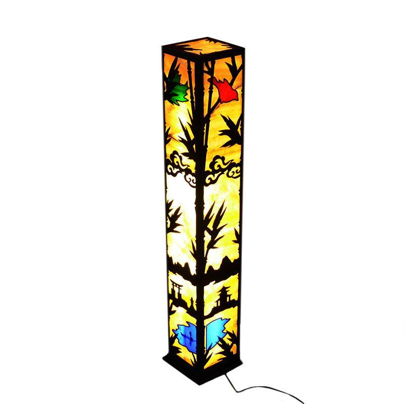 """Напольный светильник из оникса """"Япония"""""""