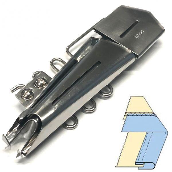 Приспособление DAYU-101, окантователь в 3 сложения для промышленных распошивальных (плоскошовных) машин