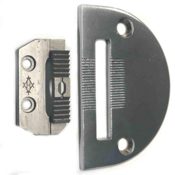 Комплект для тройного транспорта 18030+18031 комплект зубья с пластиной для машин с тройным транспортом ткани