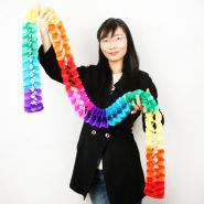 Цветочный каскад (бумажная гирлянда) (10 см * 2.8 метра)