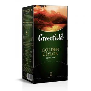 Çay Greenfield Golden Ceylon qara 25 ədəd