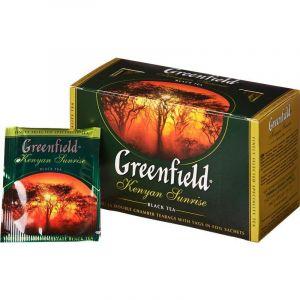 Çay Greenfield Kenyan Sunrise qara 25 ədəd