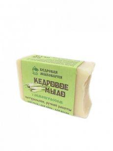 """""""Эко-кедр"""" Мыло кедровое с маслом лемонграсс, 115гр"""
