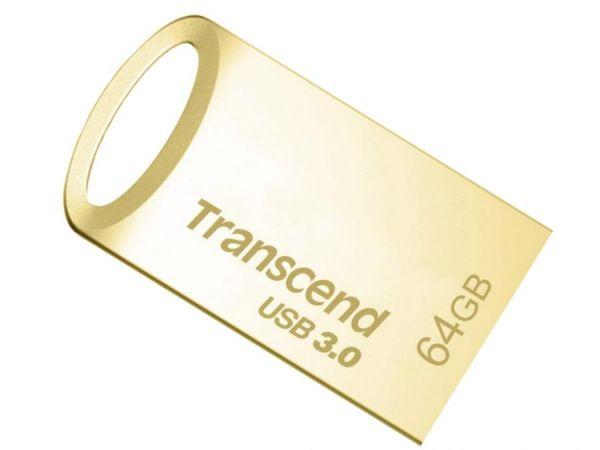 64GB USB3.0-флэш накопитель JetFlash 710, Gold Plated