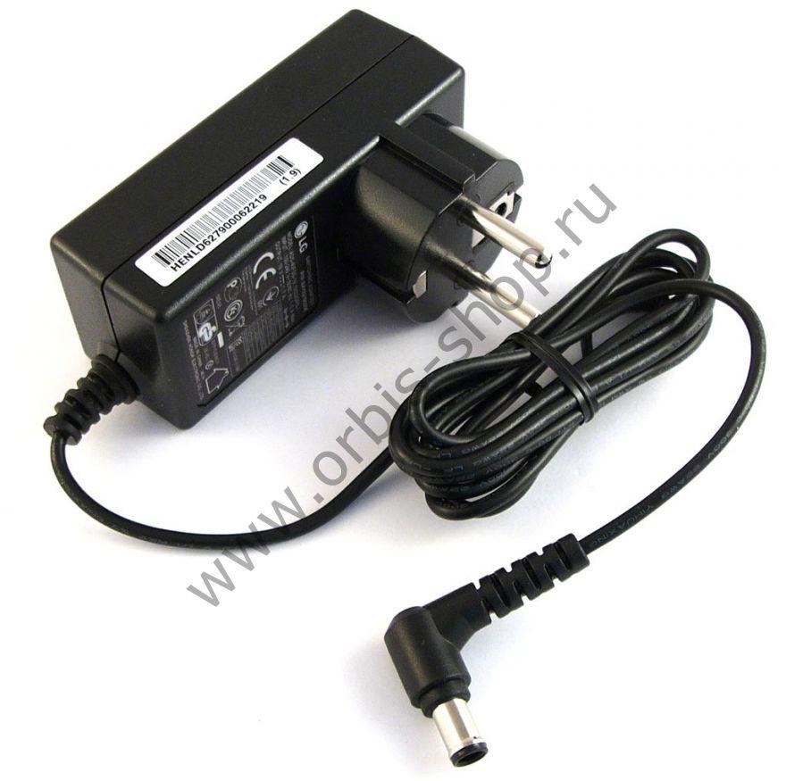 Сетевой адаптер для телевизоров и мониторов LG, 19V, 1.7A