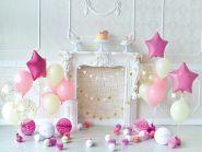 "Фон стена ""Pinkbirthday"" 2х1.5м"