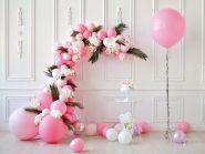 "Фон стена ""Pinkbirthday№1"" 2х1.5м"