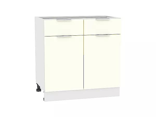 Шкаф нижний Терра Н801 (Ваниль софт)