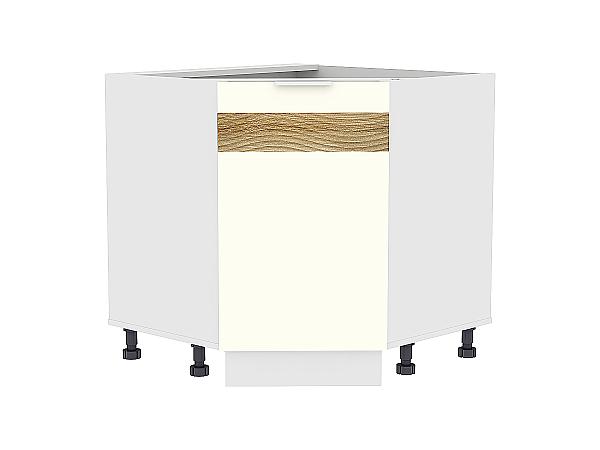 Шкаф нижний угловой Терра НУ890 D (Ваниль софт)