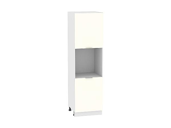 Шкаф-пенал под бытовую технику Терра ШП600H (Ваниль софт)