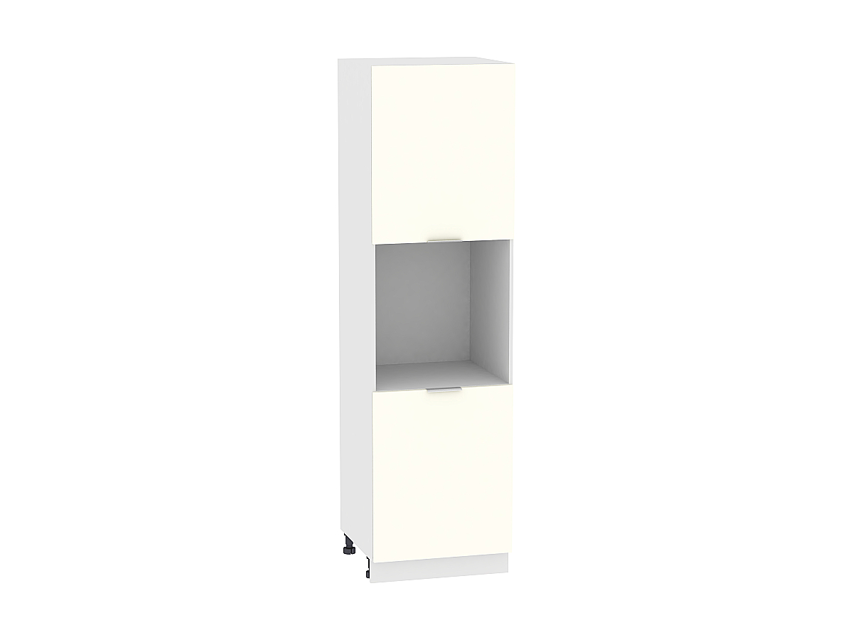 Шкаф-пенал под бытовую технику Терра ШП600 (Ваниль софт)