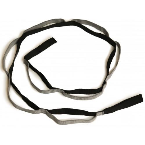 Эспандер-лента для растяжки с петлями INDIGO 8015 KRB
