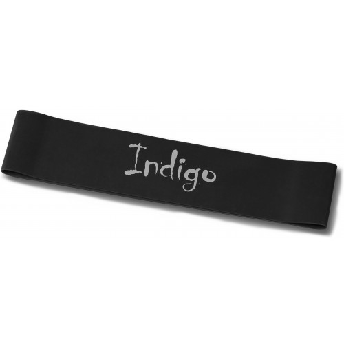 Эспандер-лента латексная замкнутая INDIGO SUPER HEAVY 6004-4 HKRB черная