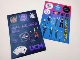 Наклейки-стикеры UCM и IFM (МФИ)