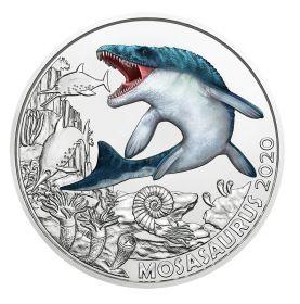 Мозазавр 3 евро Австрия 3 евро 2020 на заказ