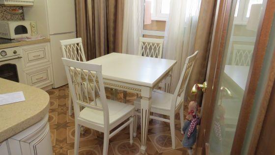 Стол Луиза-1 квадратный (Эмаль)