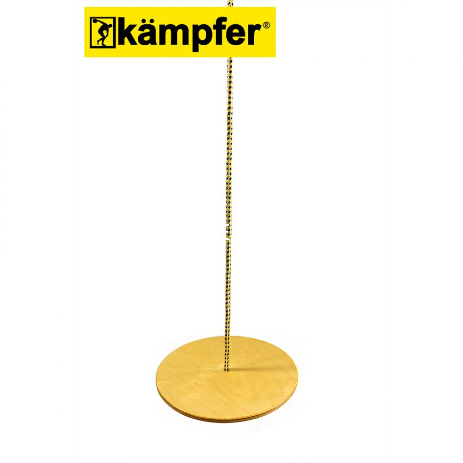 Деревянные качели-диск Лиана Kampfer