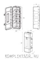 Схема пенала DAKEN REGON 82190, 9-12 кг