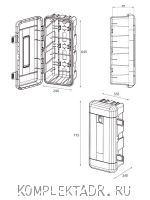 Схема пенала для огнетушителя DAKEN REGON 82130