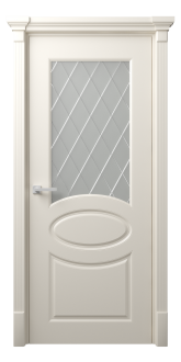 Межкомнатная дверь Фелиция Стекло Рим