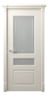 Межкомнатная дверь Мирбо 2 Деко Стекло Вензель