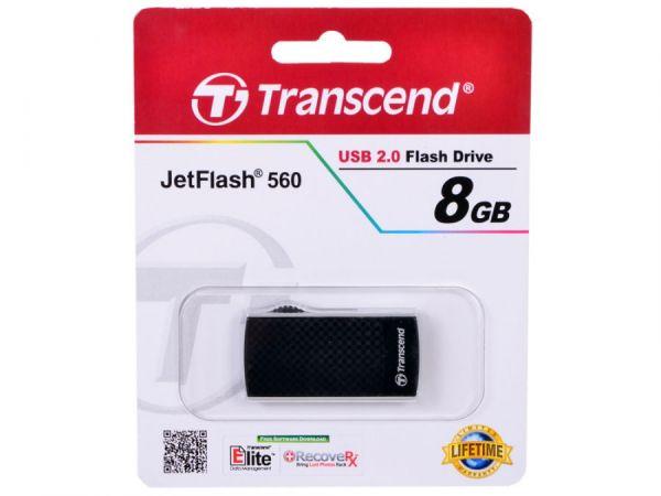 8GB USB-флэш накопитель Transcend Jetflash 560 (миниатюрный, выдвижной)