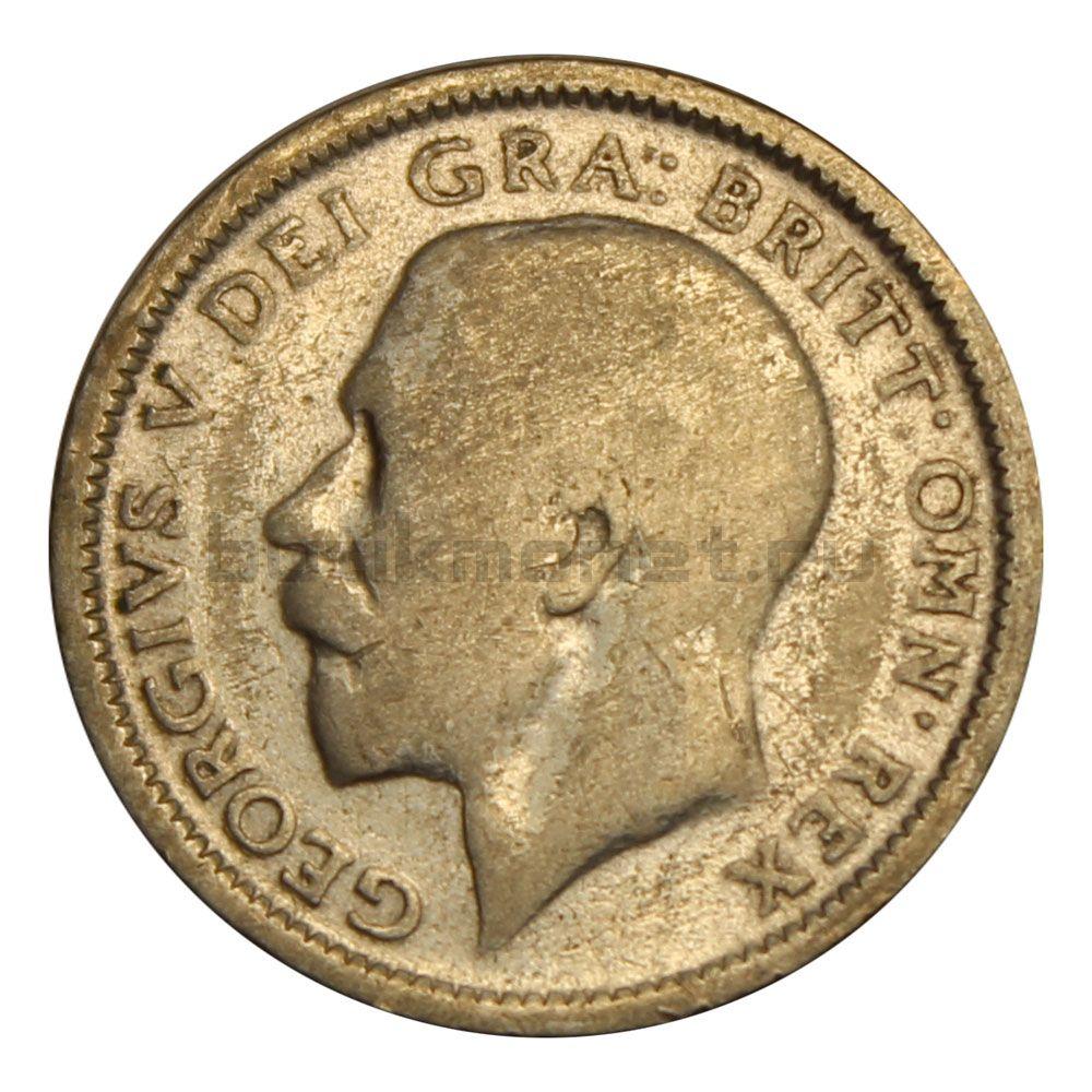 6 пенсов 1925 Великобритания