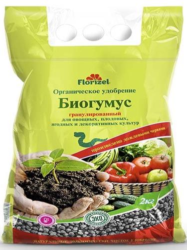 """Удобрение органическое Биогумус """"Florizel"""", 2кг"""