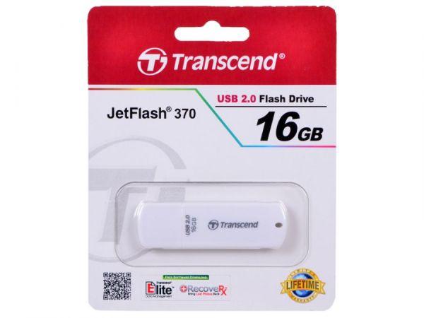 16GB USB-флэш накопитель Transcend Jetflash 370 белый