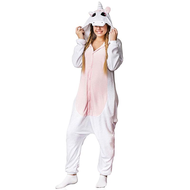 Пижама Кигуруми Единорог Розовый