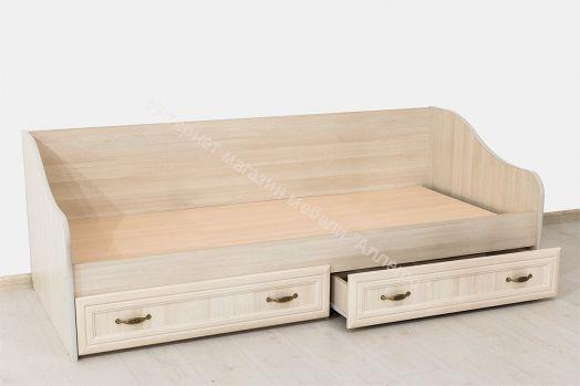 """Кровать с ящиками """"Вега""""  ДМ-09 1,86 м"""