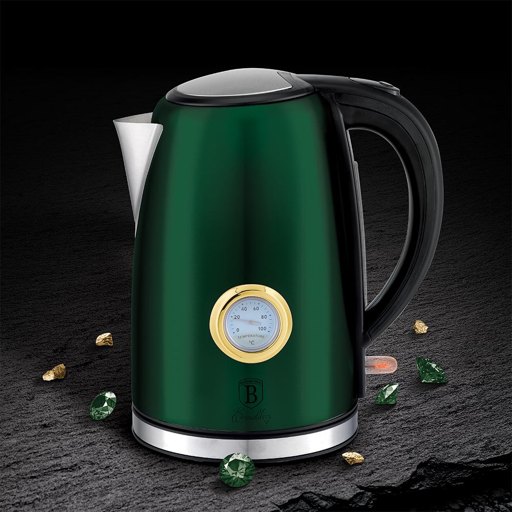 Чайник электрический с таймером Berlinger Haus BH 9072 Emeraild Collection