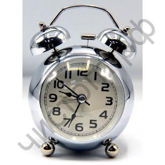 Часы -будильник настол. кварц.  670-2 WP подсветка